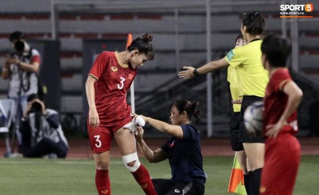 Tuyển nữ Việt Nam ăn mừng lần thứ 6 vô địch SEA Games, sau khi đánh bại Thái Lan nghẹt thở 1-0 - Ảnh 10.