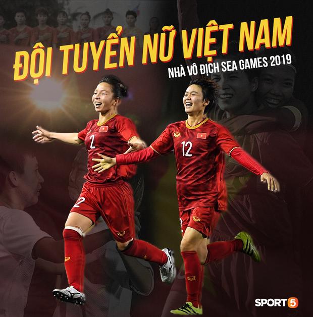 Đội trưởng tuyển nữ Việt Nam gục ngã đau đớn, phải nhờ bác sĩ cõng ra khỏi sân khi đồng đội ăn mừng huy chương vàng SEA Games - Ảnh 13.
