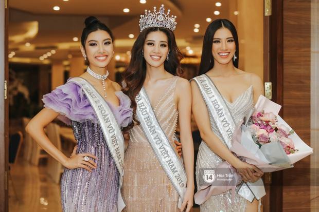 Cận cảnh nhan sắc Top 3 Hoa hậu Hoàn vũ Việt Nam 2019: Khánh Vân tỏa sáng với gương mặt thánh thiện, 2 nàng Á hậu đáng gờm - Ảnh 8.