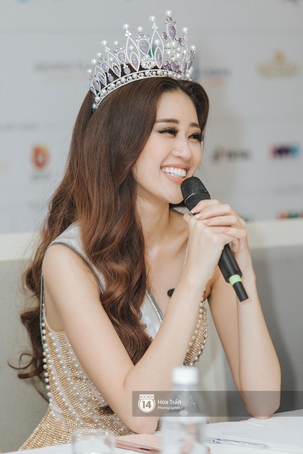 Cận cảnh nhan sắc Top 3 Hoa hậu Hoàn vũ Việt Nam 2019: Khánh Vân tỏa sáng với gương mặt thánh thiện, 2 nàng Á hậu đáng gờm - Ảnh 4.