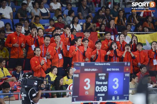 Bạc Thị Khiêm, nữ vận động viên Taekwondo khiến toàn bộ khán giả Philippines phải câm lặng chỉ sau một cú đá - Ảnh 4.