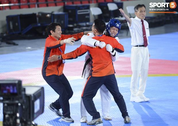 Bạc Thị Khiêm, nữ vận động viên Taekwondo khiến toàn bộ khán giả Philippines phải câm lặng chỉ sau một cú đá - Ảnh 6.