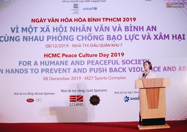 Nhiều nghệ sĩ Việt hưởng ứng ngày Văn hoá Hoà bình TP. HCM 2019, chung tay chống bạo lực và xâm hại trẻ em - Ảnh 1.