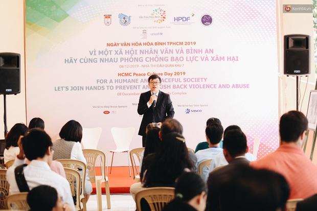 Nhiều nghệ sĩ Việt hưởng ứng ngày Văn hoá Hoà bình TP. HCM 2019, chung tay chống bạo lực và xâm hại trẻ em - Ảnh 14.