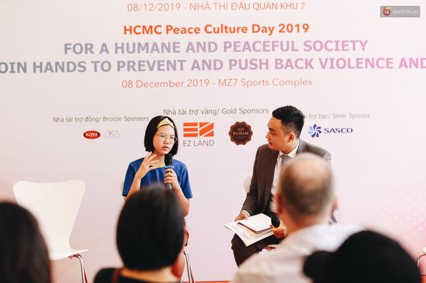 Nhiều nghệ sĩ Việt hưởng ứng ngày Văn hoá Hoà bình TP. HCM 2019, chung tay chống bạo lực và xâm hại trẻ em - Ảnh 10.