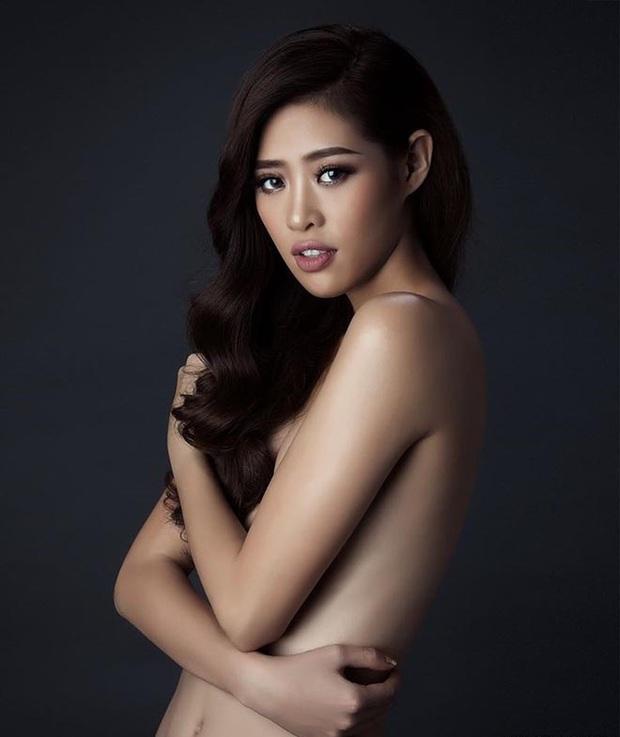 Ảnh gợi cảm của Hoa hậu Hoàn vũ Khánh Vân thời chưa nổi bất ngờ hot trở lại: Từ lâu thần sắc đã cuốn hút thế này! - Ảnh 1.