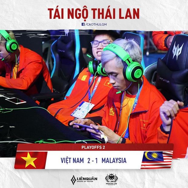 SEA Games 30: Đánh bại Malaysia, tuyển Liên Quân Việt Nam tái đấu Thái Lan ở trận Chung kết nhánh thua! - Ảnh 4.