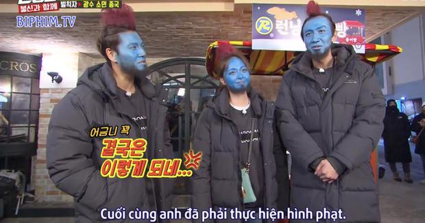 Hình phạt hóa trang hài hước nhất lịch sử Running Man: Cosplay Yondu phát bánh cá giữa chợ - Ảnh 5.