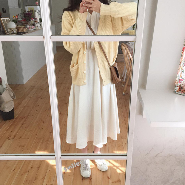 Nghĩ tưởng đơn giản nhưng không phải nàng nào cũng biết 4 mẫu áo khoác kết hợp ăn ý nhất với váy - Ảnh 9.