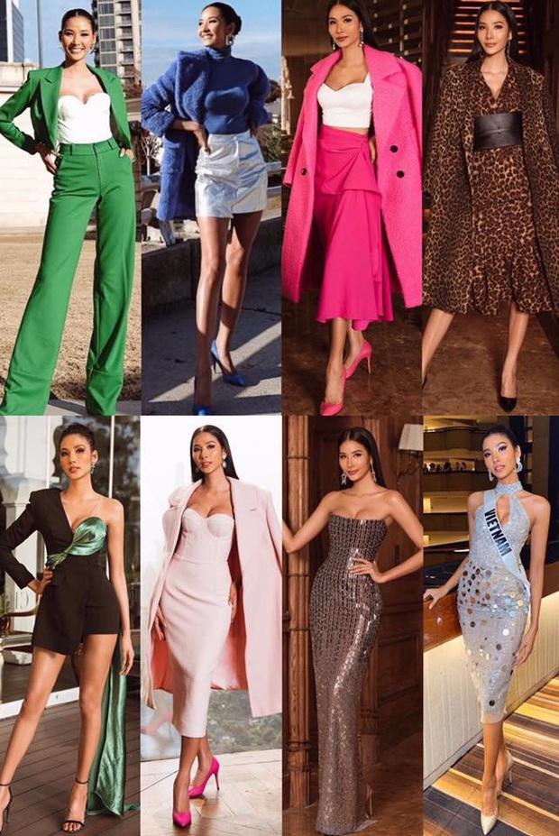 Chiến lược thời trang cao tay của Hoàng Thùy tại Miss Universe: Mỗi ngày diện một màu không trùng phát nào, lần nào cũng rực rỡ chói chang - Ảnh 1.