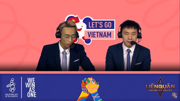 Liên Quân Mobile: Nhìn BLV Tùng Họa Mi bật khóc ngay trên sóng trực tiếp mới thấy trận thua trước Thái Lan nuối tiếc đến nhường nào! - Ảnh 3.
