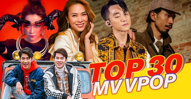 Top 30 MV có lượt xem cao nhất Youtube của 2019: Jack và K-ICM bao vây chặt Sơn Tùng, Mỹ Tâm và Đen Vâu sương sương cũng lọt top - Ảnh 1.