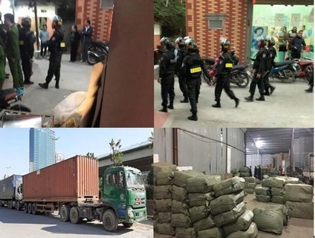 Khám xét hàng loạt điểm nghi chứa thuốc bắc nhập lậu tại Ninh Hiệp - Ảnh 1.