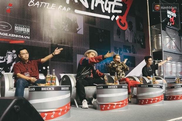 Điểm lại những pha bẻ lyric của các đấu thủ tại vòng Knock-out Beck'Stage Battle Rap: RichChoi, Đại Vũ, Linh Thộn ai bẻ lái gắt hơn? - Ảnh 8.