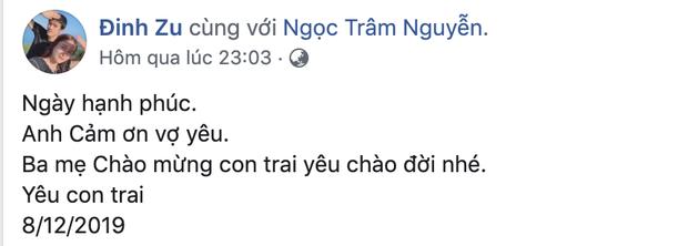 Trợ lý đội U22 Việt Nam hạnh phúc khi con trai chào đời ngay trước thềm chung kết SEA Games 30 - Ảnh 1.