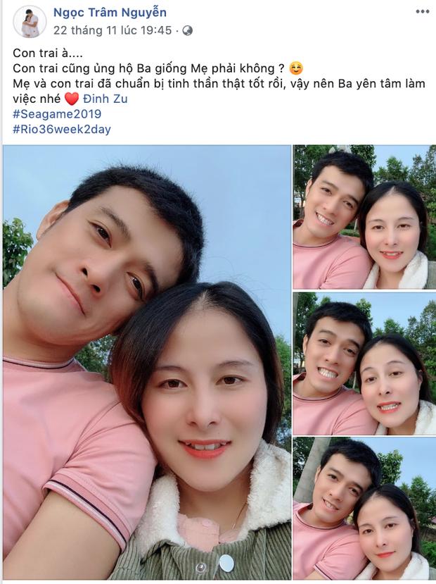 Trợ lý đội U22 Việt Nam hạnh phúc khi con trai chào đời ngay trước thềm chung kết SEA Games 30 - Ảnh 2.