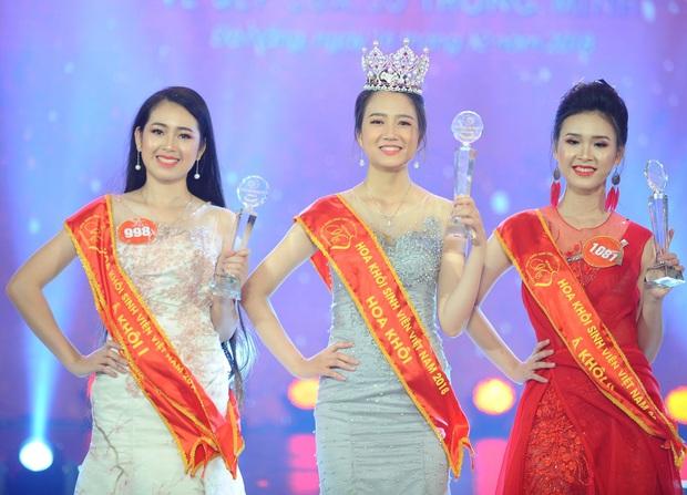 Top 3 Hoa khôi Sinh Viên 2018: Người vừa tốt nghiệp đã là BTV đài truyền hình, người nhan sắc thăng hạng không ngừng - Ảnh 1.