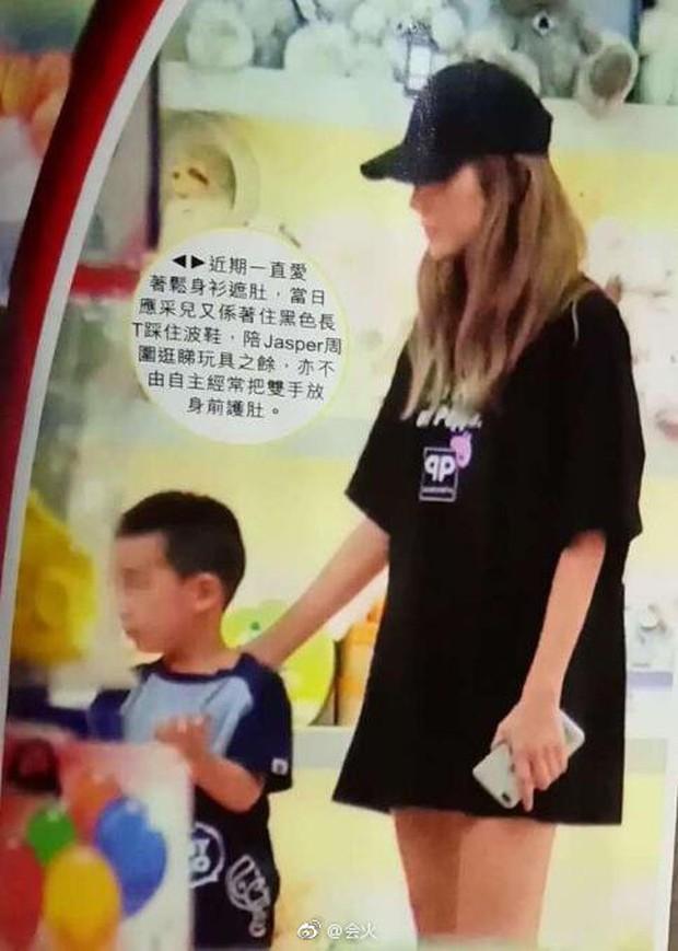 Cô vợ thứ sáu của Vi Tiểu Bảo lộ bụng bầu vượt mặt, mang thai lần 2 ở tuổi 36 - Ảnh 2.