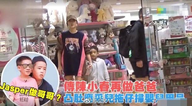 Cô vợ thứ sáu của Vi Tiểu Bảo lộ bụng bầu vượt mặt, mang thai lần 2 ở tuổi 36 - Ảnh 7.