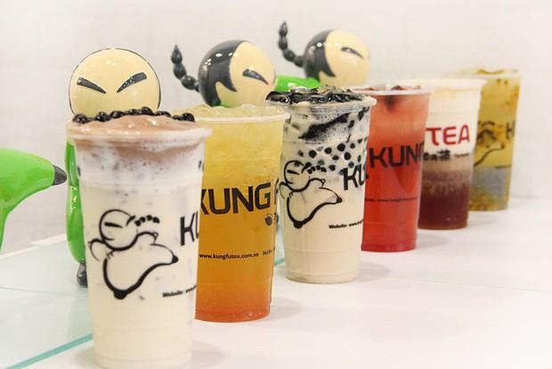 Sài Gòn không kém Hà Nội với hàng loạt quán trà sữa mở bán xuyên Tết - Ảnh 22.