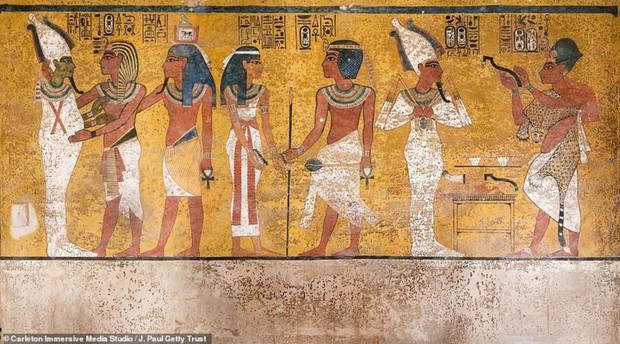 Bên trong hầm mộ bí ẩn của pharaoh nổi tiếng nhất vương triều Ai Cập - Ảnh 11.