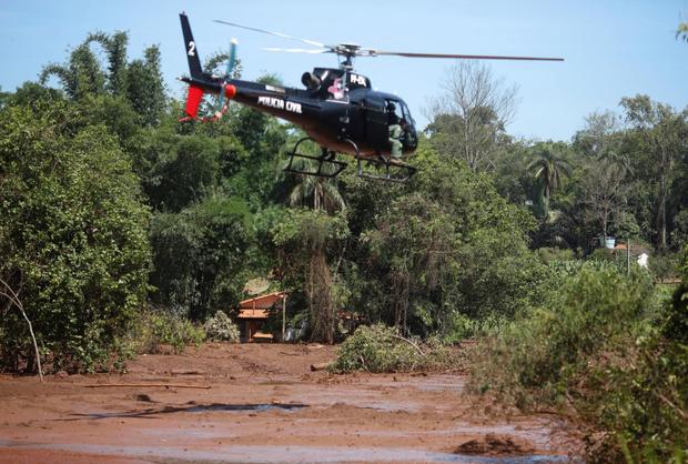 Vỡ đập ở Brazil: Số người chết tăng lên 110, hàng trăm người còn mất tích - Ảnh 3.