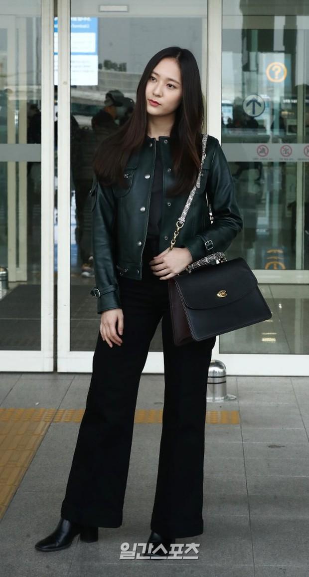 Cùng tăng cân khi xuất hiện tại sân bay: Krystal bị chê vừa thô vừa xuống sắc, Seohyun được khen xinh rạng rỡ - Ảnh 3.