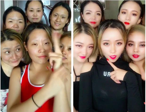 Chùm ảnh: Các nữ sinh từ vịt hoá thiên nga nhờ make up, ai không biết trang điểm là thiệt thòi vô cùng lớn - Ảnh 9.