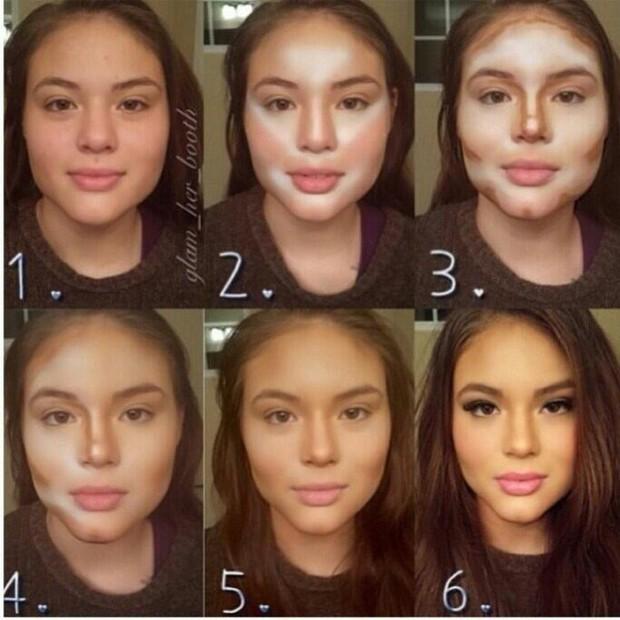 Chùm ảnh: Các nữ sinh từ vịt hoá thiên nga nhờ make up, ai không biết trang điểm là thiệt thòi vô cùng lớn - Ảnh 6.