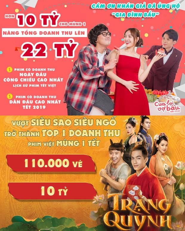 Toàn cảnh drama cung đấu Trạng Quỳnh và Cua Lại Vợ Bầu ầm ĩ mùa phim Tết 2019 - Ảnh 4.