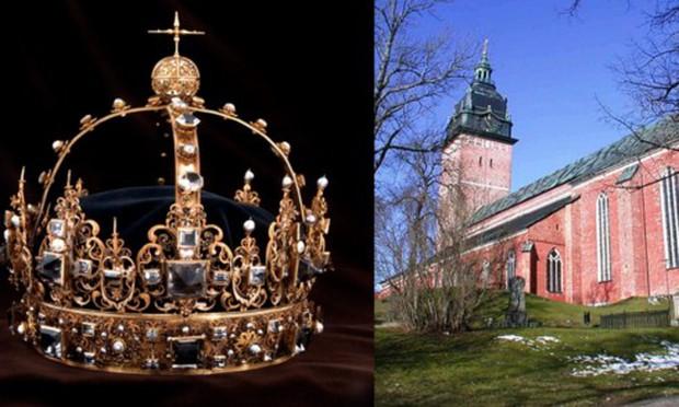 Báu vật hoàng gia Thụy Điển bị đánh cắp được tìm thấy trong thùng rác - Ảnh 1.