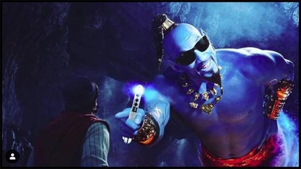 Thần Đèn Aladdin trở thành vựa muối để cư dân mạng chế ảnh nhờ tạo hình quá tệ - Ảnh 6.