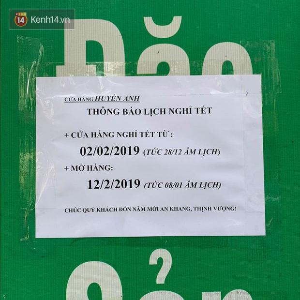 Hết Tết rồi mà vẫn còn nhiều quán xá ở Hà Nội chưa mở bán trở lại, có nơi nghỉ đến tận đầu tháng 3 - Ảnh 29.
