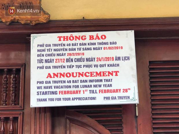 Hết Tết rồi mà vẫn còn nhiều quán xá ở Hà Nội chưa mở bán trở lại, có nơi nghỉ đến tận đầu tháng 3 - Ảnh 1.