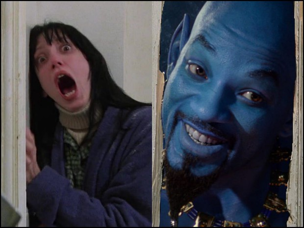 Thần Đèn Aladdin trở thành vựa muối để cư dân mạng chế ảnh nhờ tạo hình quá tệ - Ảnh 7.