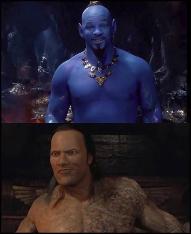 Thần Đèn Aladdin trở thành vựa muối để cư dân mạng chế ảnh nhờ tạo hình quá tệ - Ảnh 9.