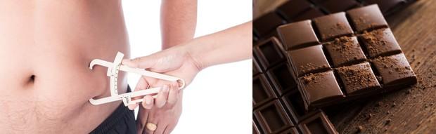 Tin vui mùa Valentine: những người ăn socola thường xuyên có phần trăm mỡ trong cơ thể ít hơn người không ăn - Ảnh 2.