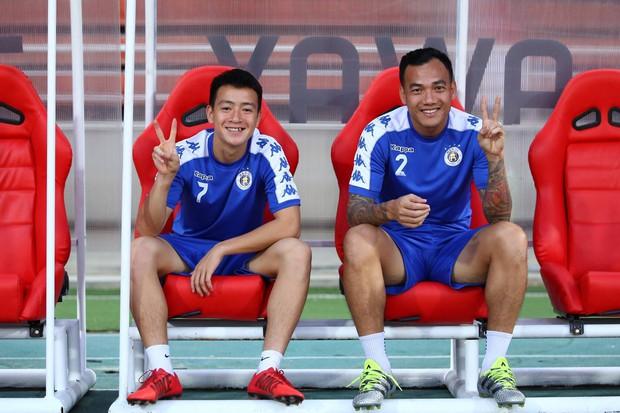 CLB Hà Nội diện áo mới, hứng khởi tập luyện trên đất Thái Lan - Ảnh 4.