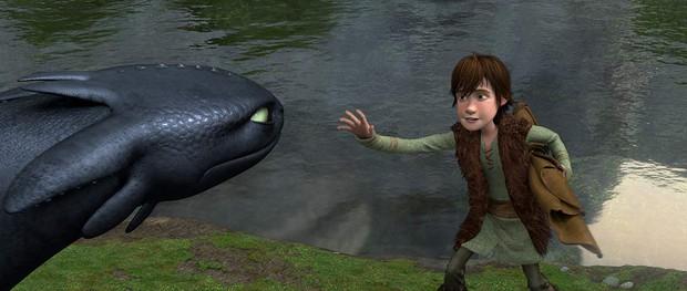 Bí quyết giữ tình bạn thân ai cũng GATO giữa Hiccup và Toothless trong Bí Kíp Luyện Rồng - Ảnh 1.