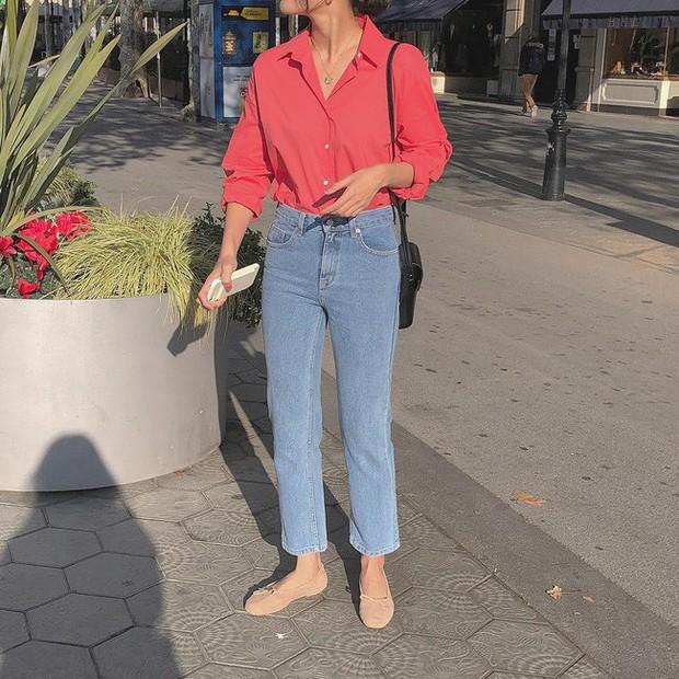 Ngoài son đỏ thì đây chính là combo chuẩn nhất cho nàng công sở mặc đi làm ngày đầu năm - Ảnh 9.