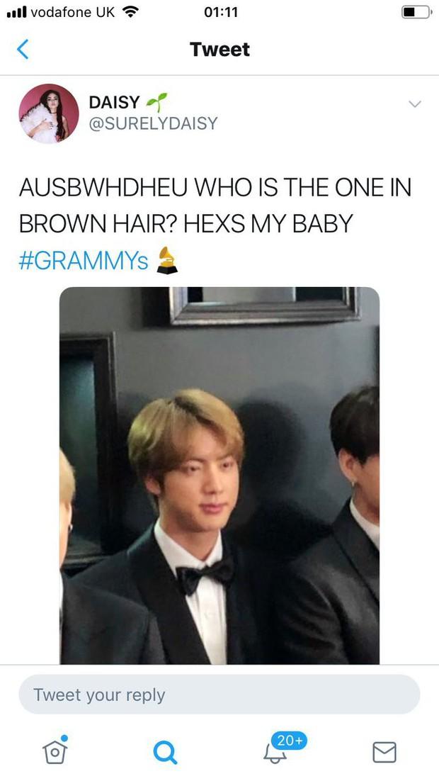 Sau Grammy 2019, nhân vật cậu tóc nâu và chàng trai tóc bạc hà bỗng được netizen quốc tế lùng sục gắt gao - Ảnh 1.