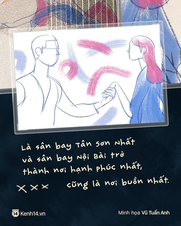 Sài Gòn, Hà Nội và những người yêu xa: Cách nhau 2h bay và gần 2000 cây số toàn thương với nhớ - Ảnh 3.