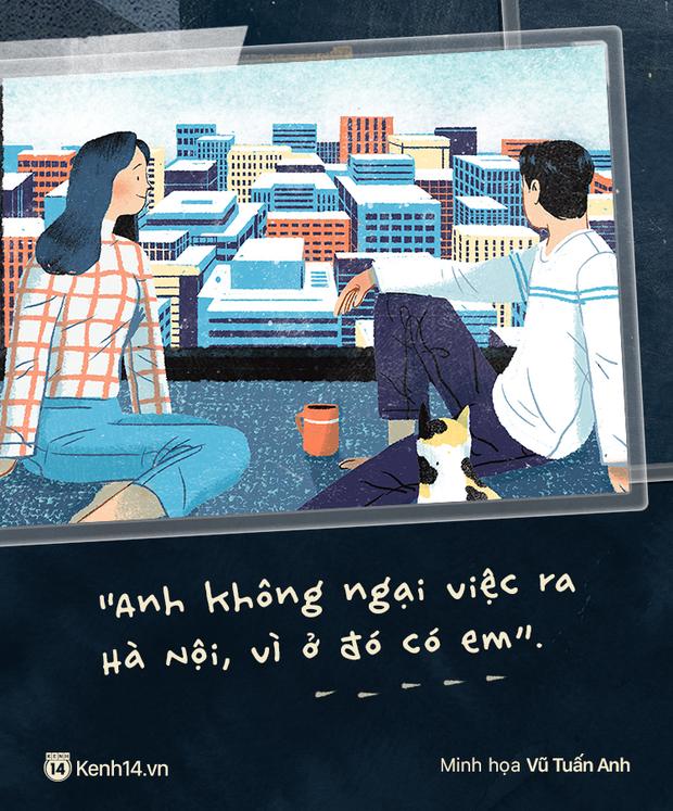 Sài Gòn, Hà Nội và những người yêu xa: Cách nhau 2h bay và gần 2000 cây số toàn thương với nhớ - Ảnh 13.
