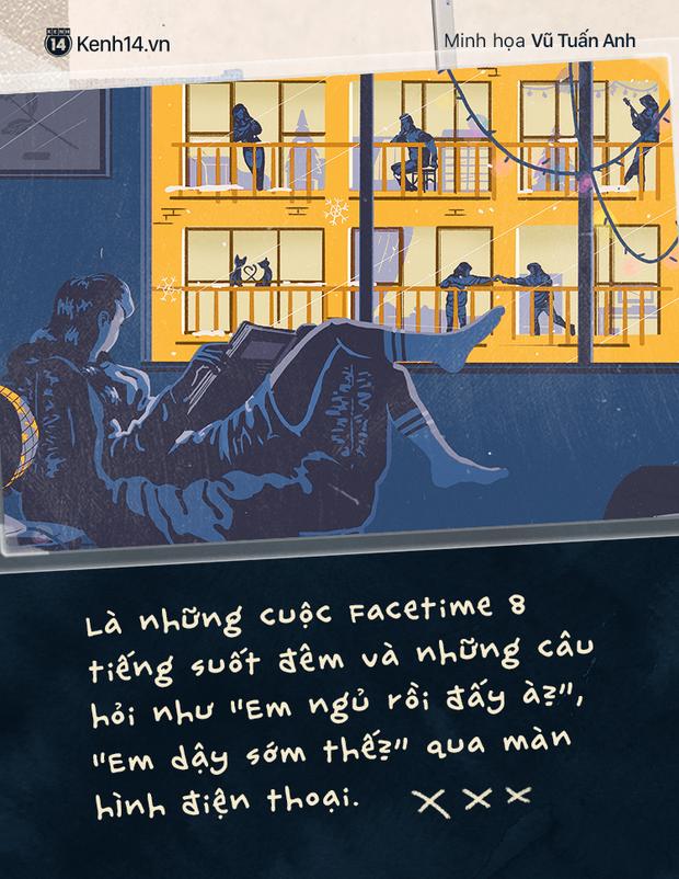 Sài Gòn, Hà Nội và những người yêu xa: Cách nhau 2h bay và gần 2000 cây số toàn thương với nhớ - Ảnh 7.
