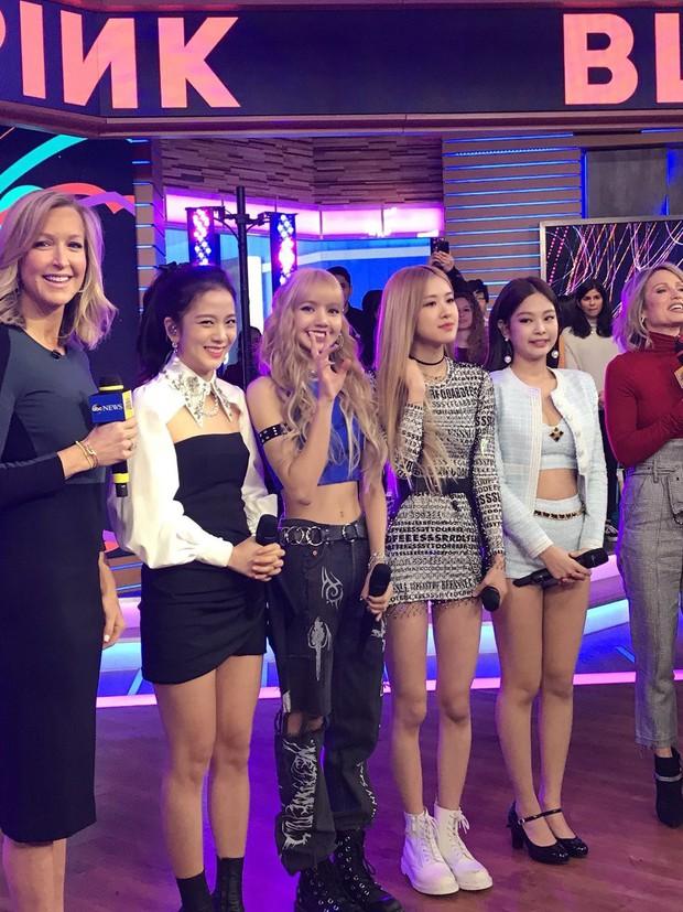 Lộ clip khán giả hát át cả tiếng Black Pink tại show chào buổi sáng hàng đầu ở Mỹ - Ảnh 8.