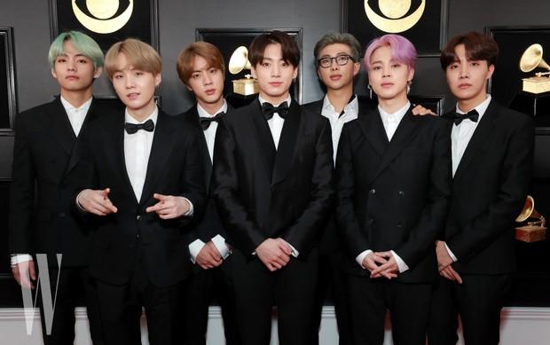 Chọn đồ của NTK trong nước đi dự Grammy là đủ thấy lòng tự tôn dân tộc của BTS lớn cỡ nào - Ảnh 3.