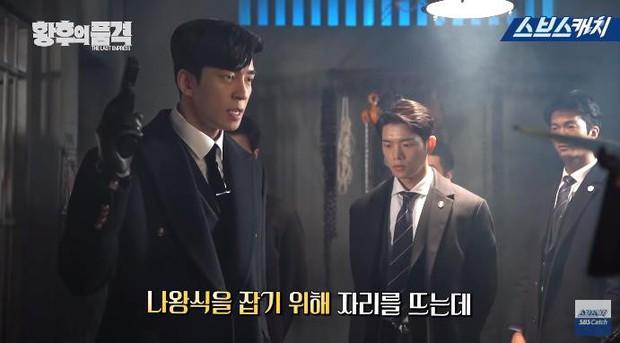 Clip hậu trường hài hước của The Last Empress: Jang Nara nhìn chồng cũ tô son ngỡ uống sữa dê? - Ảnh 6.