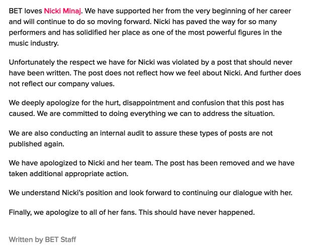 Biến căng bên lề Grammy: Nicki Minaj bị đá xéo, Cardi B bất ngờ lên tiếng bảo vệ nhưng lại lãnh hậu quả cay đắng  - Ảnh 2.