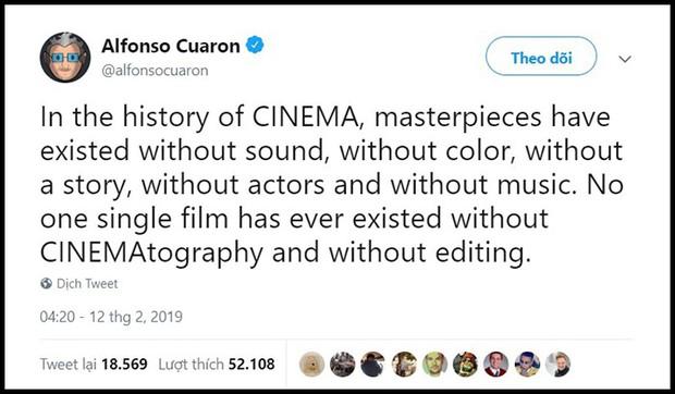 Oscar 2019 lại tạo phốt khi xóa 4 hạng mục khỏi lễ trao giải khiến các nhà quay phim phẫn nộ - Ảnh 3.