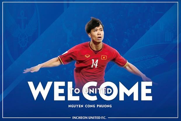 Chính thức: Công Phượng nhận áo số 23 tại Incheon United FC - Ảnh 1.